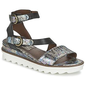Topánky Ženy Sandále Mjus MIAMI Scale / čierna