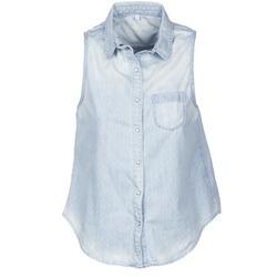 Oblečenie Ženy Košele s krátkym rukávom Pepe jeans POCHI Modrá