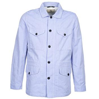 Oblečenie Muži Parky Aigle STONEFISH Modrá