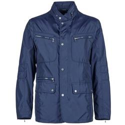 Oblečenie Muži Bundy  Geox NOLHAN Námornícka modrá