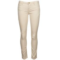 Oblečenie Ženy Džínsy Slim Acquaverde SCARLETT Béžová