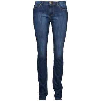 Oblečenie Ženy Rovné džínsy Acquaverde NEW GRETTA Modrá