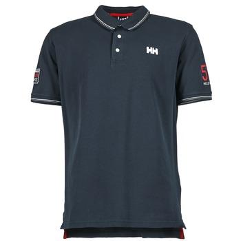 Oblečenie Muži Polokošele s krátkym rukávom Helly Hansen MASTRAND Námornícka modrá