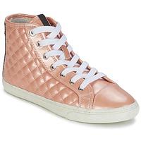 Topánky Ženy Členkové tenisky Geox NEW CLUB A Broskyňová
