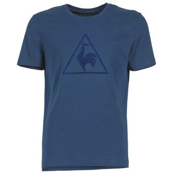 Oblečenie Muži Tričká s krátkym rukávom Le Coq Sportif ABRITO T Námornícka modrá