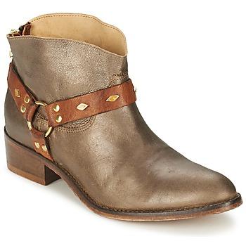 Topánky Ženy Polokozačky Koah ANYA Bronzová