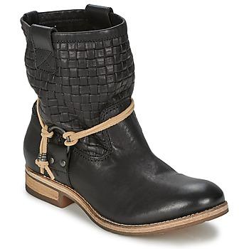 Topánky Ženy Polokozačky Koah DANIA čierna