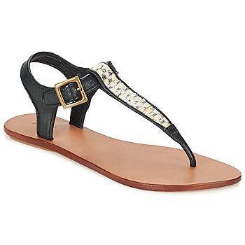 Topánky Ženy Sandále Koah MELL čierna / Strieborná