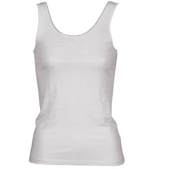 Oblečenie Ženy Tielka a tričká bez rukávov Majestic 701 Biela