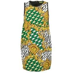 Oblečenie Ženy Krátke šaty Versace Jeans NDM909 BIS čierna / Viacfarebná