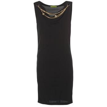 Oblečenie Ženy Krátke šaty Versace Jeans NDM931 čierna