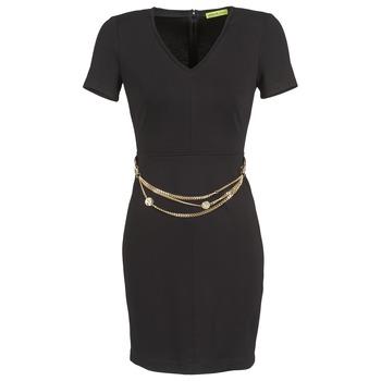 Oblečenie Ženy Krátke šaty Versace Jeans NDM911 EASY čierna