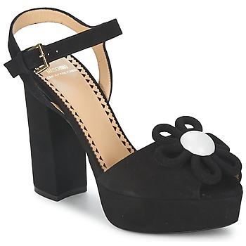 Topánky Ženy Sandále Moschino Cheap & CHIC CA1617 čierna