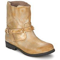 Topánky Ženy Polokozačky Moschino Cheap & CHIC CA21013 Zlatá