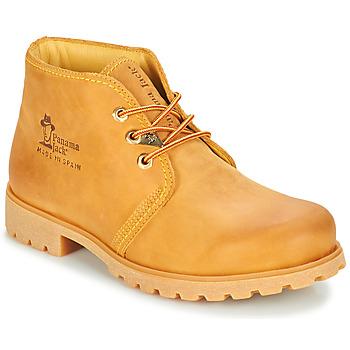 Topánky Muži Polokozačky Panama Jack BOTA PANAMA Žltá obilná