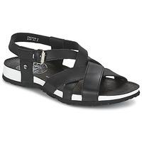 Topánky Muži Sandále Panama Jack FALCON čierna