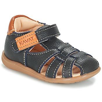 Topánky Deti Sandále Kavat RULLSAND Modrá / Námornícka modrá