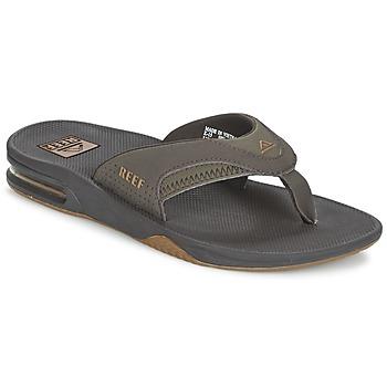 Topánky Muži Žabky Reef FANNING šedá