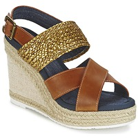 Topánky Ženy Sandále Napapijri BELLE Ťavia hnedá / Zlatá