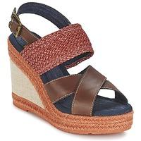 Topánky Ženy Sandále Napapijri BELLE Hnedá / Červená