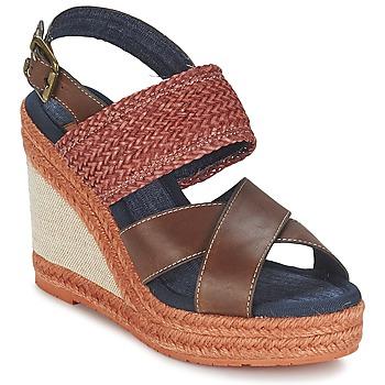 Topánky Ženy Sandále Napapijri BELLE Hnedá / Dark / červená