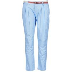 Oblečenie Ženy Nohavice Chinos a Carrot La City PANTBASIC Modrá