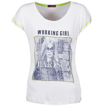 Oblečenie Ženy Tričká s krátkym rukávom La City TMCD3 Biela