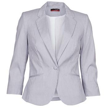 Oblečenie Ženy Saká a blejzre La City VST1D6 šedá