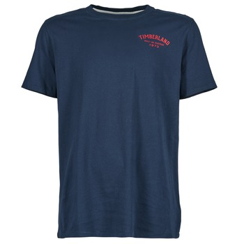 Oblečenie Muži Tričká s krátkym rukávom Timberland SS KENNEBEC RIVER Námornícka modrá
