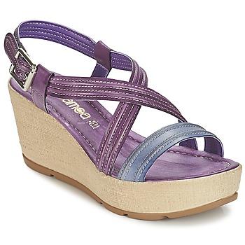 Topánky Ženy Sandále Samoa JEBEMA Fialová  / Modrá
