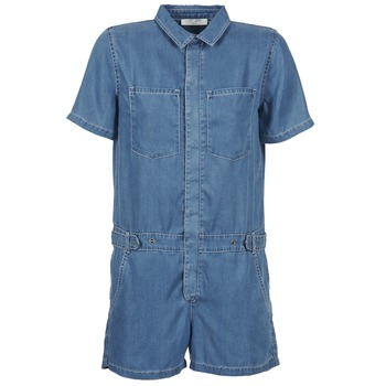 Oblečenie Ženy Módne overaly Teddy Smith CALINCA DENIM LYOCELL Modrá