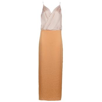 Oblečenie Ženy Dlhé šaty Lola RAPH Ružová / Oranžová lososová