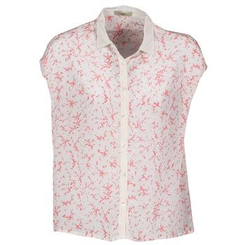 Oblečenie Ženy Košele s krátkym rukávom Lola CANYON Biela / Červená