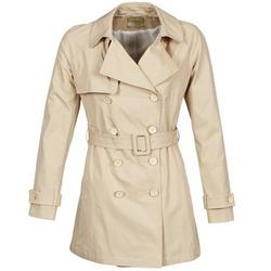 Oblečenie Ženy Kabátiky Trenchcoat Lola MARDI Béžová