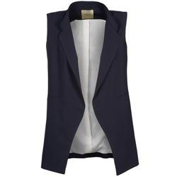 Oblečenie Ženy Saká a blejzre Lola VONIG Námornícka modrá
