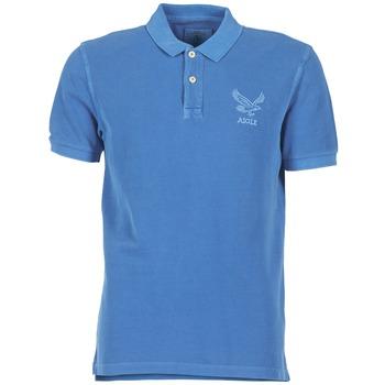 Oblečenie Muži Polokošele s krátkym rukávom Aigle BELAQUA Modrá