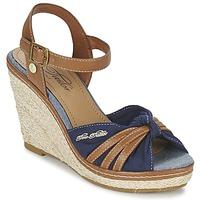Topánky Ženy Sandále Tom Tailor BASTIOL Námornícka modrá