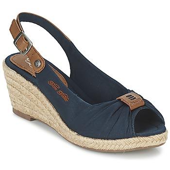 Topánky Ženy Sandále Tom Tailor FARALO Námornícka modrá
