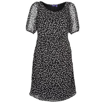 Oblečenie Ženy Krátke šaty Mexx 13LW130 Čierna / Biela