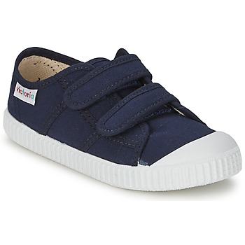 Topánky Deti Nízke tenisky Victoria BLUCHER LONA DOS VELCROS Námornícka modrá