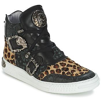 Topánky Ženy Členkové tenisky New Rock ANTERLO Leopard
