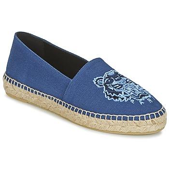 Topánky Ženy Espadrilky Kenzo TIGER HEAD Modrá