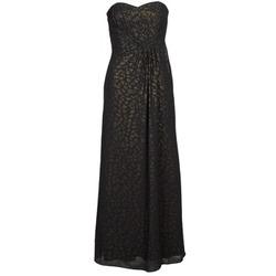 Oblečenie Ženy Dlhé šaty Manoukian 612930 Čierna / Zlatá