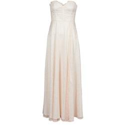 Oblečenie Ženy Dlhé šaty Manoukian 613346 Ružová / Béžová
