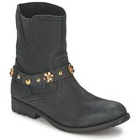 Topánky Ženy Polokozačky Moschino Cheap & CHIC CA21013G1ZCE čierna