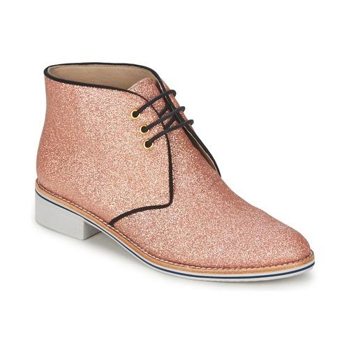 Topánky Ženy Polokozačky C.Petula STELLA Ružová