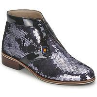 Topánky Ženy Derbie C.Petula PEGASE Strieborná