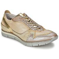 Topánky Ženy Nízke tenisky Manas  Zlatá