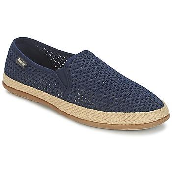 Topánky Muži Slip-on Bamba By Victoria COPETE ELASTICO REJILLA TRENZA Námornícka modrá