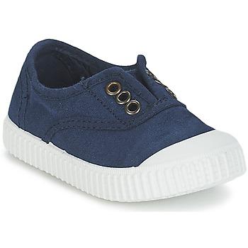 Topánky Deti Nízke tenisky Victoria INGLESA LONA TINTADA Námornícka modrá